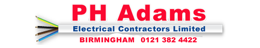 PH Adams Electrical Contractors Limited England & Wales- Logo